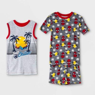Boys' Marvel Spider-Man 3pc Pajama Set - Disney Store