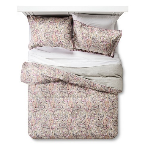 Damara Duvet Cover Set (King) Magenta - Bedeck 1951® - image 1 of 4