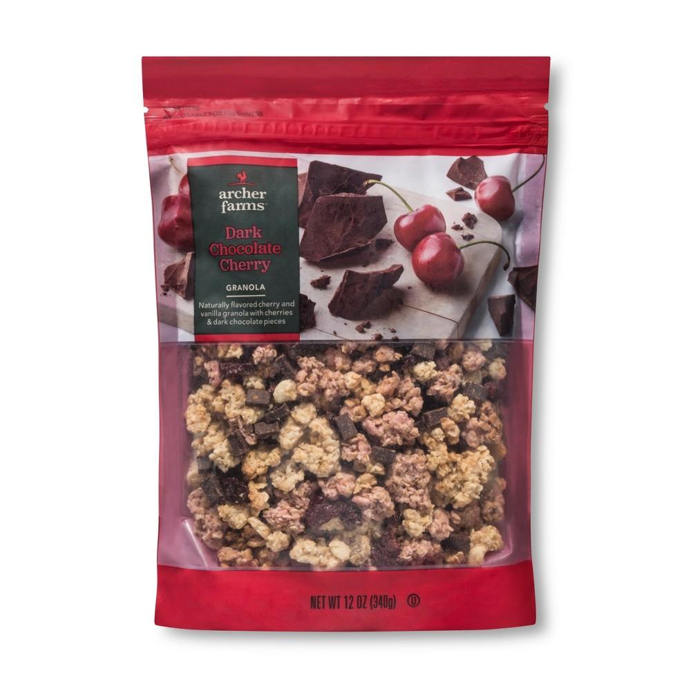 Dark Chocolate Cherry Granola - 12oz - Archer Farms
