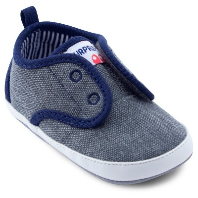 Baby Boys' Surprize by Stride Rite® Ken Sneaker Soft Sole Shoes - Gray 0-6M