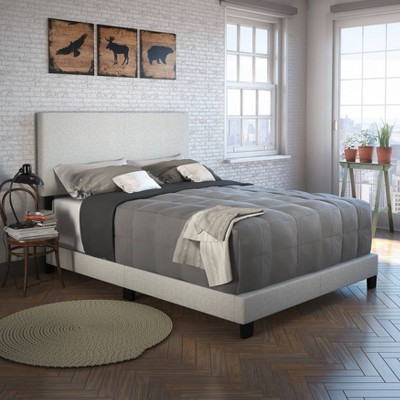 Monroe Linen Upholstered Platform Bed Frame - Eco Dream