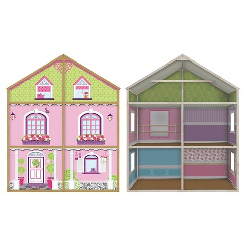 My Girls' Wooden Dollhouse for 18'' Dolls - Dollie & Me Style - image 1 of 2