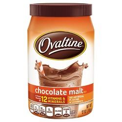 Ovaltine Chocolate Malt Mix - 12oz