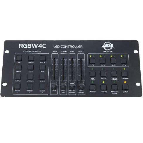American DJ 32 Channel RGB/RGBW/RGBA LED DMX Lighting Controller | RGBW4C - image 1 of 4