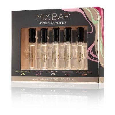 MIX:BAR Eau De Parfum Scent Discovery Set - 5pc