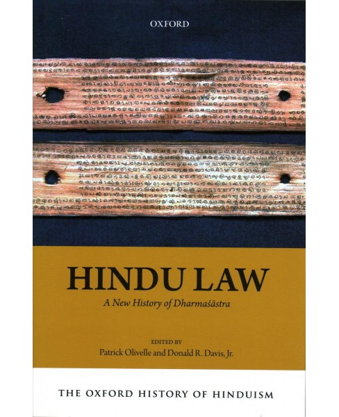 Hindu Law : A New History of Dharmasastra -  (Hardcover) - image 1 of 1