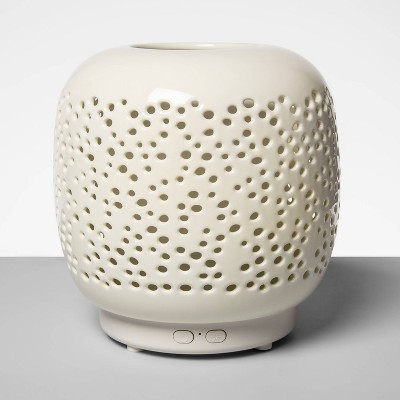 200ml Speckled Ceramic Oil Diffuser White - Opalhouse™