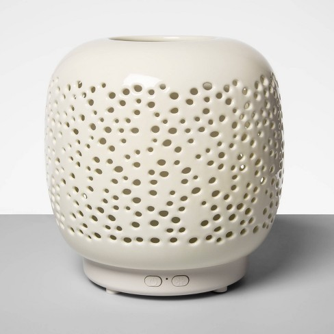 200ml Speckled Ceramic Oil Diffuser White - Opalhouse™ - image 1 of 3