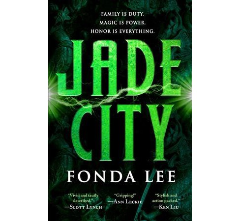 Jade City -  Reprint (The Green Bone Saga) by Fonda Lee (Paperback) - image 1 of 1