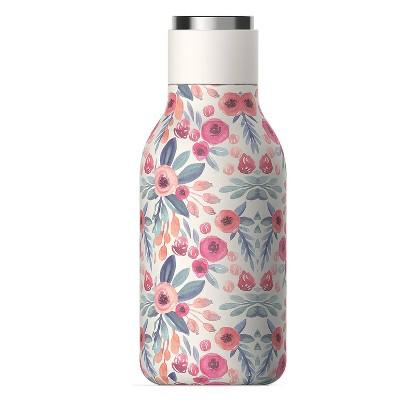 ASOBU Urban stainless steel water bottle - Floral
