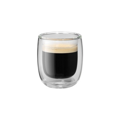 ZWILLING Sorrento 2-pc Double-Wall Glass Espresso Cup Set