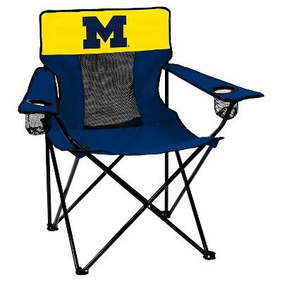 Michigan Wolverines Elite Folding Camp Chair