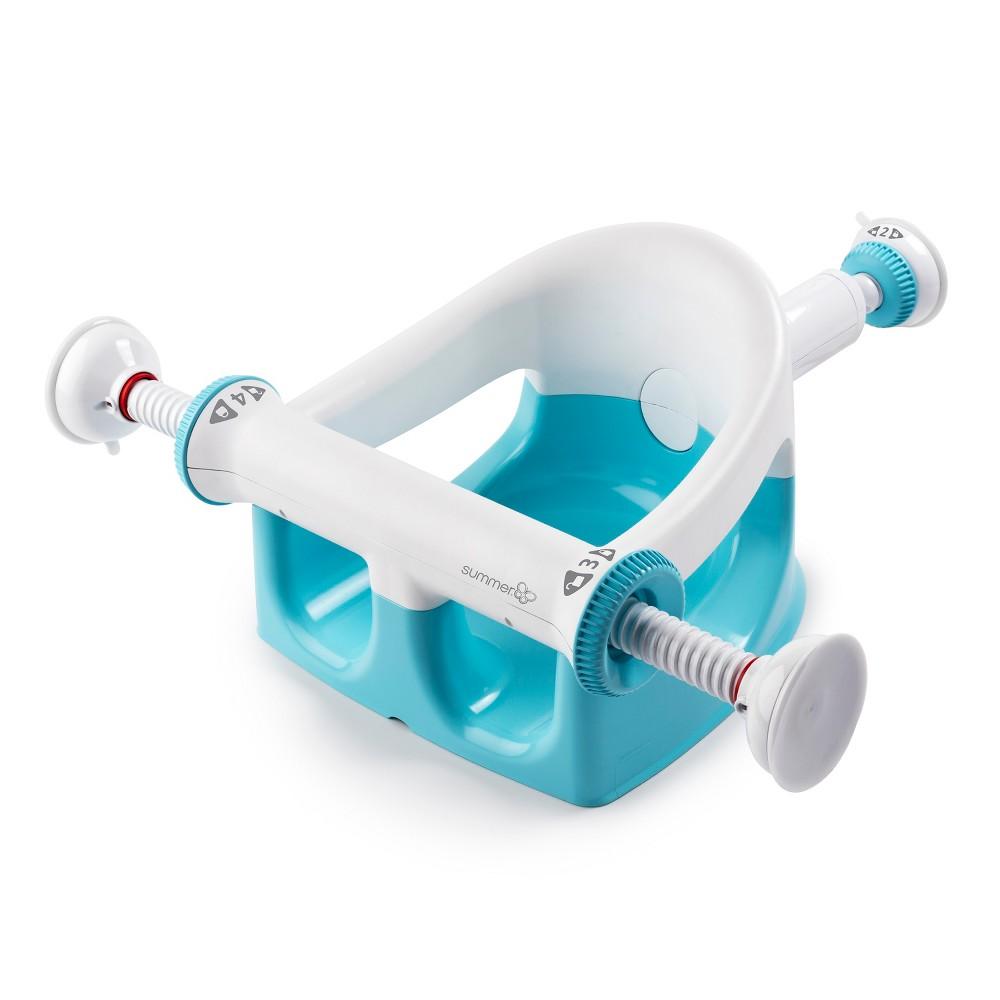 Image of Summer Infant My Bath Seat - Aqua, Blue