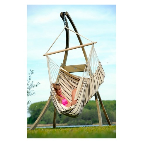 Atlas Wood Hanging Chair Stand Byer Of Maine Target