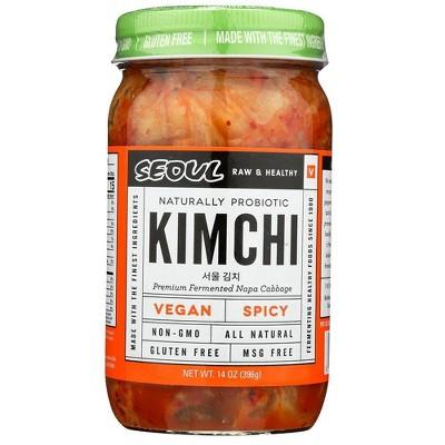 Seoul Vegan Spicy Kimchi - 14oz