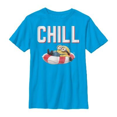 Boy's Despicable Me Minions Chill Floatie T-Shirt