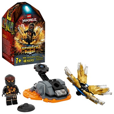 LEGO NINJAGO Spinjitzu Burst Cole NINJAGO Accessory Set Building Kit 70685