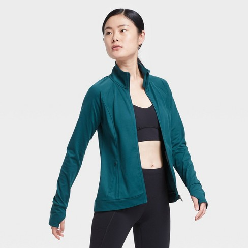 Women's Zip Front Jacket - All in Motion™ - image 1 of 4