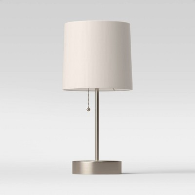 Stick Lamp Gray (Includes LED Light Bulb)- Room Essentials™