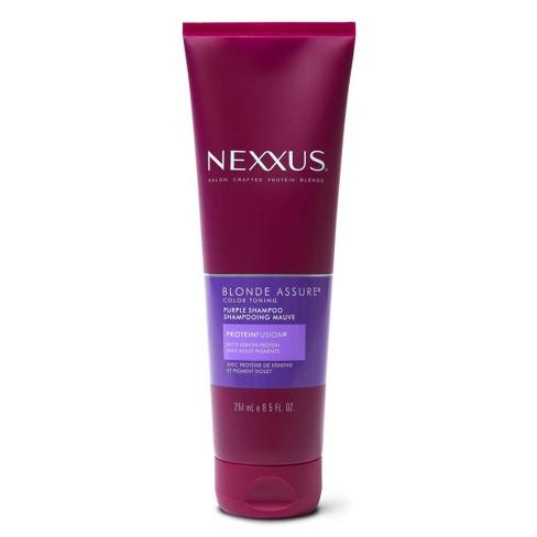 Nexxus Blonde Assure Purple Shampoo Color Care Shampoo for Blonde Hair - 8.5 fl oz - image 1 of 4