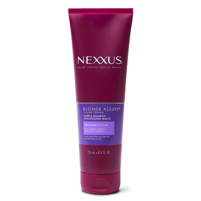 Nexxus Blonde Assure Purple Shampoo Color Care Shampoo For Blonde Hair - 8.5 Fl Oz : Target