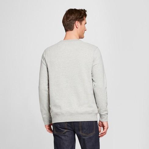 7f1476d6cc Men s Standard Fit Long Sleeve Sensory Friendly Crew Neck Sweatshirt -  Goodfellow   Co™   Target
