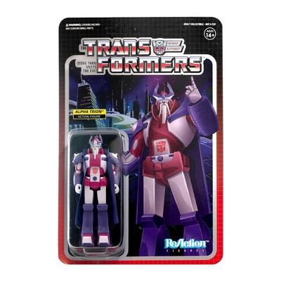 Super7 Transformers ReAction Figure - Alpha Trion