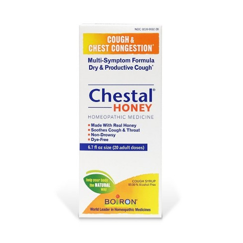 Chestal Cough & Congestion Relief Syrup - Honey - 6 7 fl oz