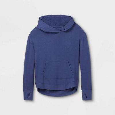 Girls' Soft Fleece Hooded Sweatshirt - All in Motion™