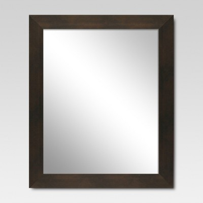 Rectangle Decorative Wall Mirror Espresso - Threshold™