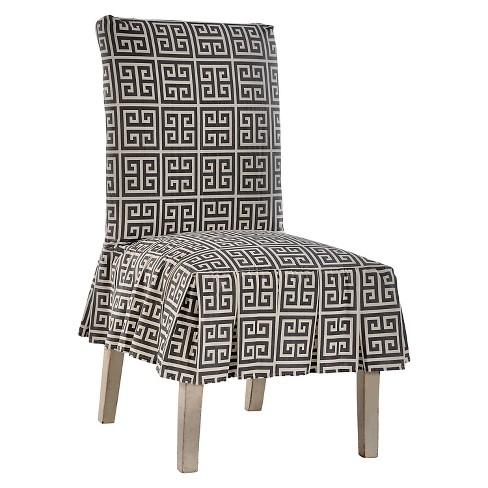 Roman Key Dining Chair Slipcover - image 1 of 2