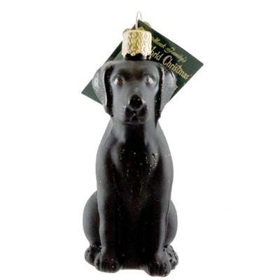 "Old World Christmas 3.75"" Labrador Retriever Black Ornament Dog Lab Best Friend  -  Tree Ornaments"