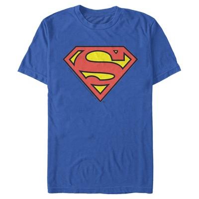 Men's Superman Logo Classic T-Shirt