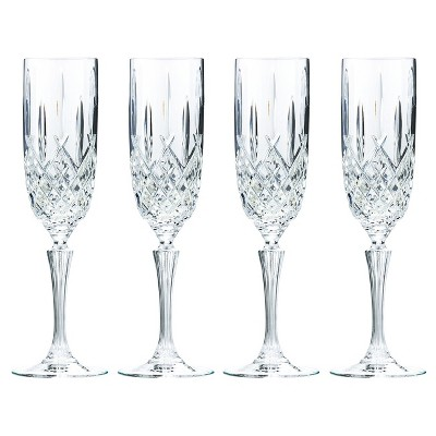 Marquis by Waterford Markham Crystal Champagne Flute 9oz - Set of 4
