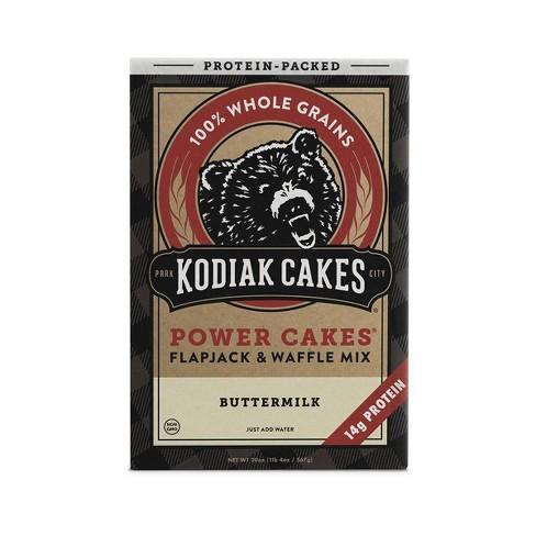 Kodiak Cakes Protein Packed Buttermilk Flapjack & Waffle Mix - 20oz - image 1 of 4