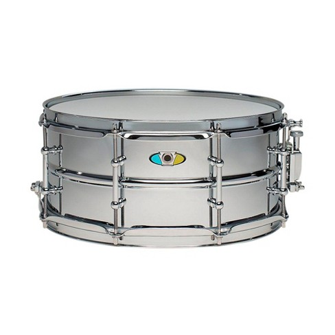 Ludwig Supralite Steel Snare Drum 13 x 6 in. - image 1 of 1