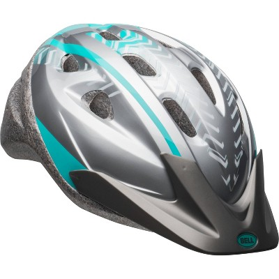 Bell Highlander Adult Women's Helmet - Silver/Blue