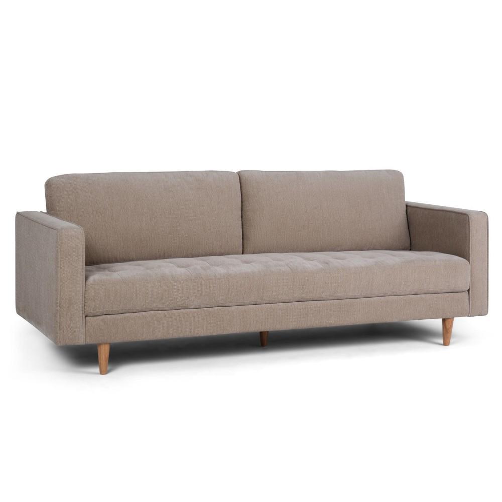 Simpli Home Blaine Sofa Light Warm Gray