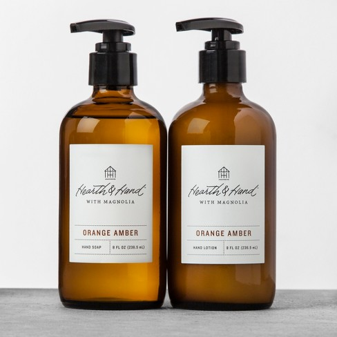 Hand Soap Orange Amber - Hearth & Hand™ with Magnolia - image 1 of 3
