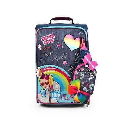 "JoJo Siwa 18"" Kids' Hardside Carry On Suitcase - Blue"