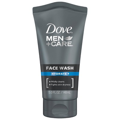 Facial Cleanser: Dove Men+Care Face Wash Hydrate