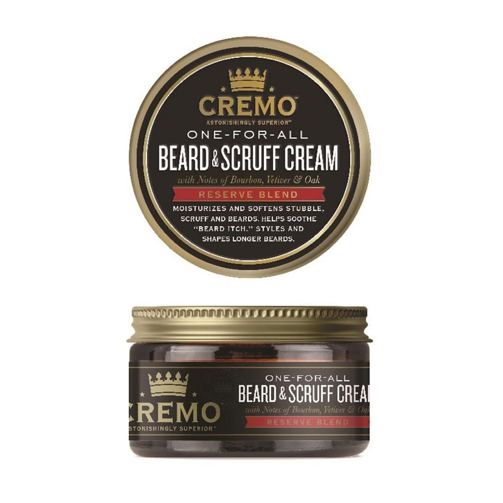 Image of Cremo Reserve Blend Beard & Scruff Cream - Moisturizing & Soothing - 4oz