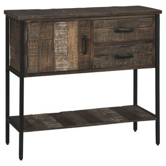 Lamoney Accent Cabinet Gray/White/Brown - Signature Design by Ashley