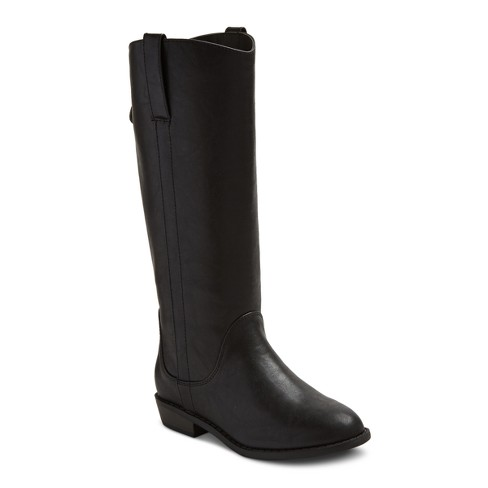 Girls' Haven Riding Boot Black Cat & Jack™ - image 1 of 4