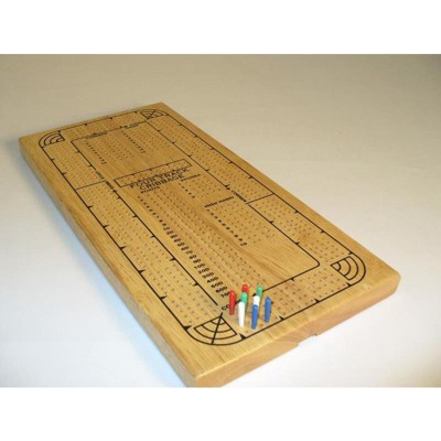 Four Track Cribbage Board Board Game
