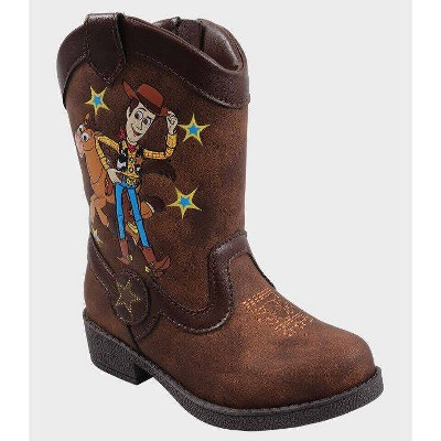 Toddler Boys' Toy Story Pull-On Boots - Brown