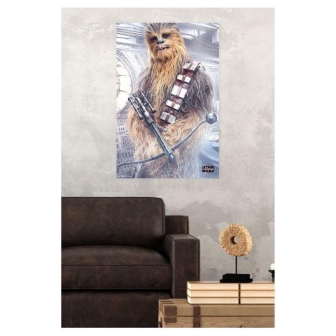 Star Wars: The Last Jedi Chewy Poster 34x22 - Trends International ...
