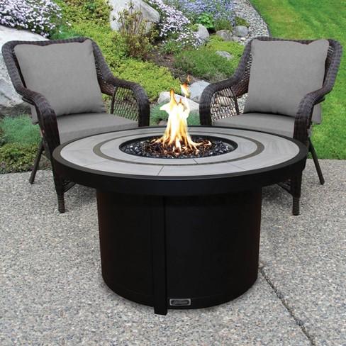 Natural Gas Patio Fire Table Sunbeam, Sunbeam Patio Furniture