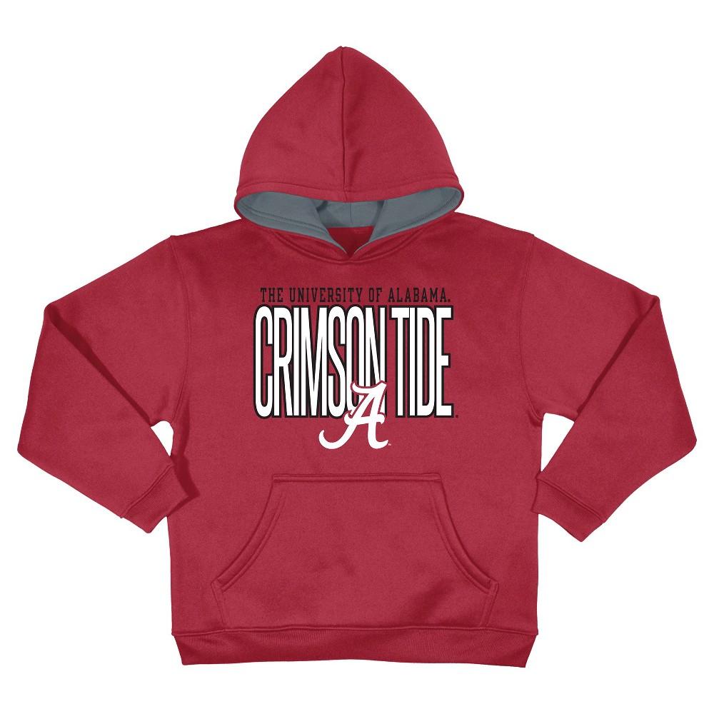 NCAAAlabama Crimson Tide Boys' Sweatshirt - Red M