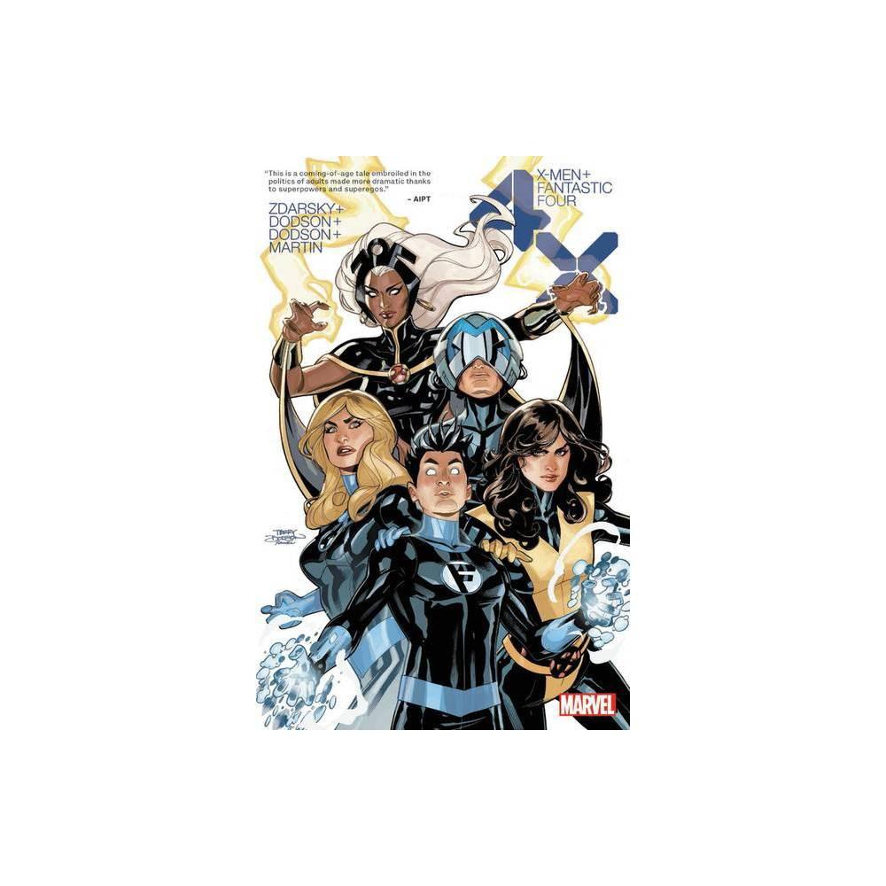 X Men Fantastic Four 4x Paperback
